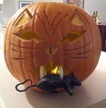 Gerrit's Cat Pumpkin