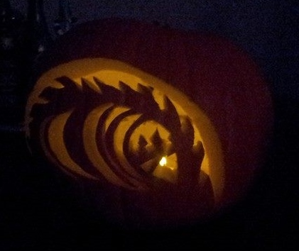 Waves pumpkin